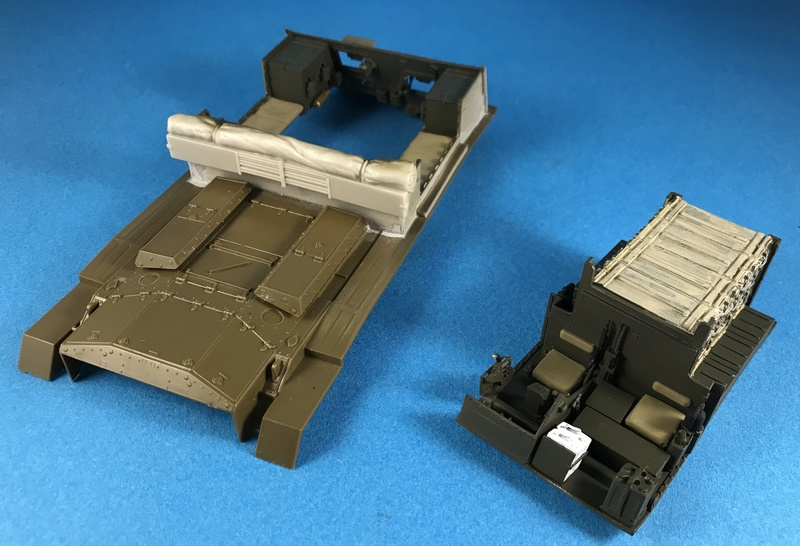 Crusader Gun Tractor et 17 Pdr 1/35 Img_3617