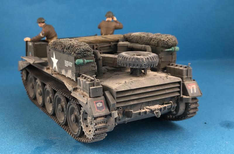 Crusader Gun Tractor et 17 Pdr 1/35 Img_4419