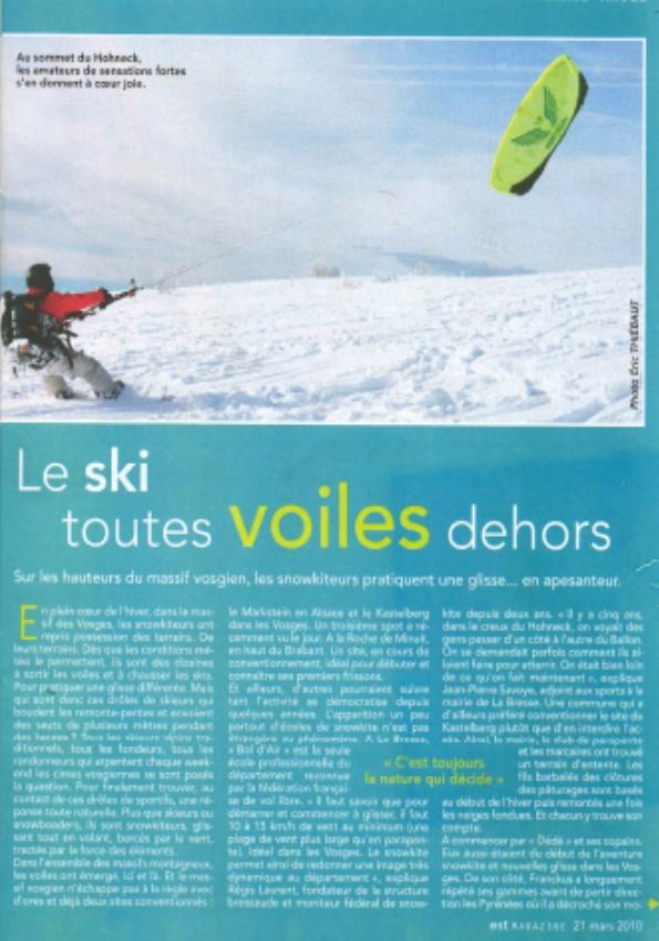 Reportage Snowkite dans Est Mag Sans_t13