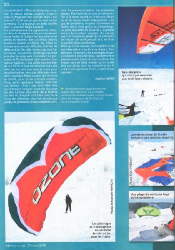 Reportage Snowkite dans Est Mag Sans_t14