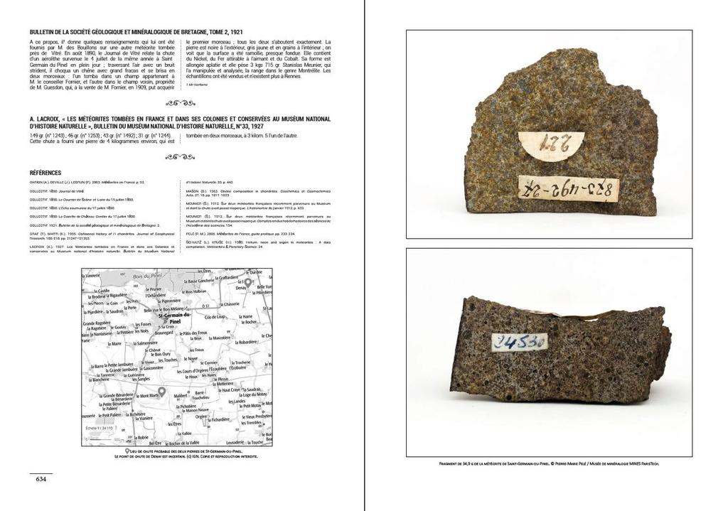 Encyclopédie des météorites françaises C410
