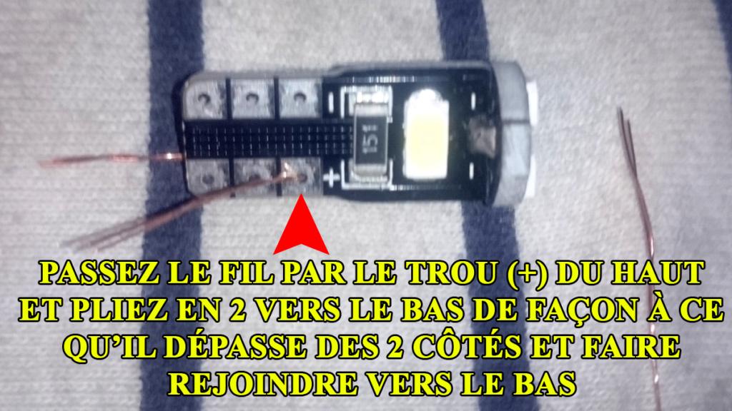 [TUTO OU ASTUCE] Remplacer les ampoules T10 de la console centrale par des LEDS T10led14