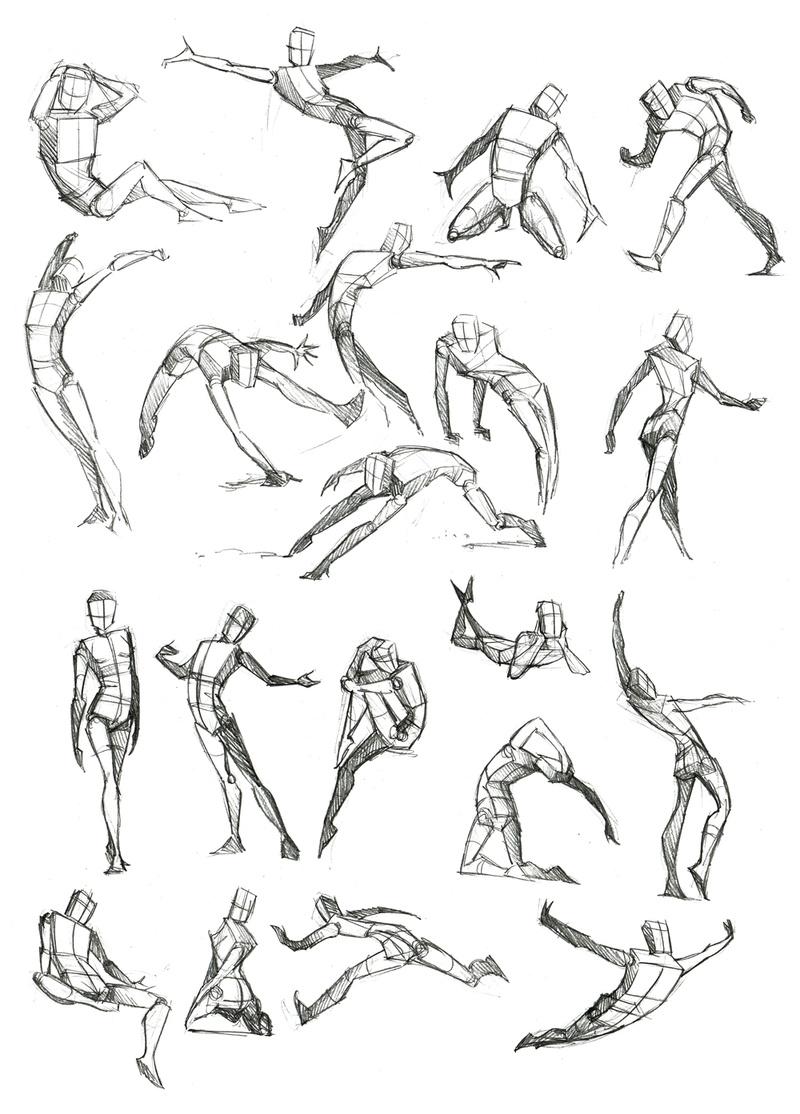 Idées de poses humaines Body_f10