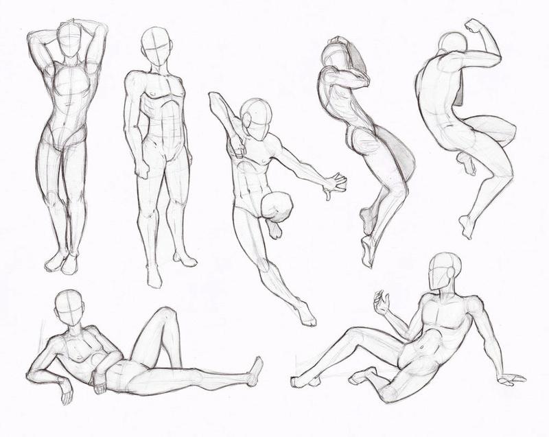 Idées de poses humaines Copy_s10