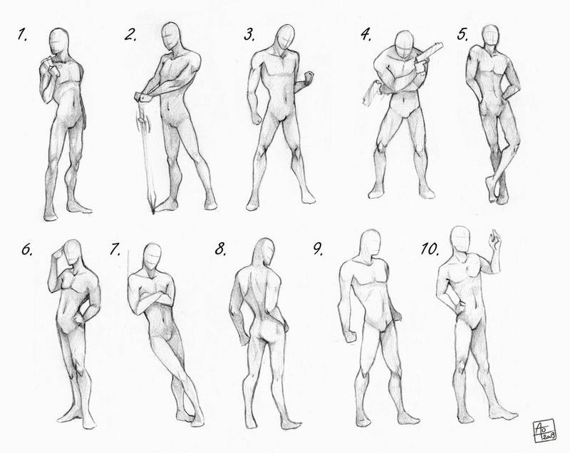 Idées de poses humaines Pose_r11