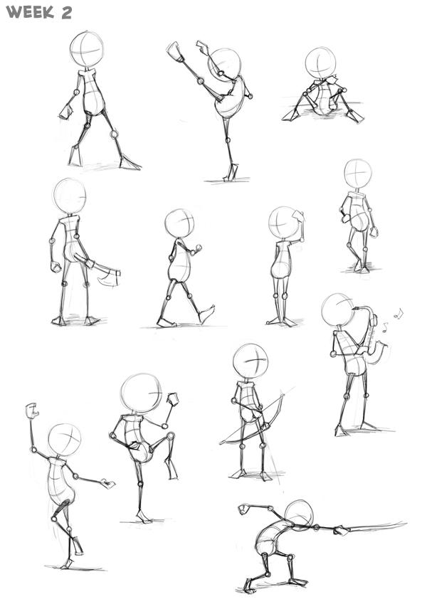 Le squelette humain Sketch10
