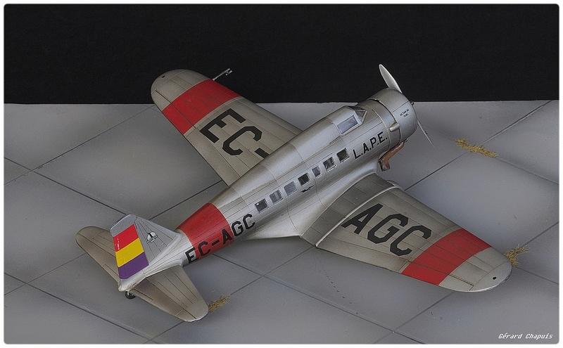 [Azur Frrom] 1/72 Northrop Delta 1 C Imgp8864