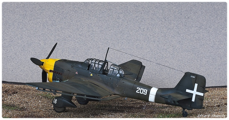 [Airfix] Junker 87 B Stukas Libye 1941 1/72 Imgp8879