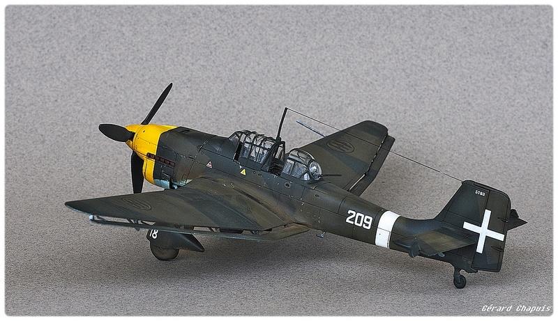 [Airfix] Junker 87 B Stukas Libye 1941 1/72 Imgp8880