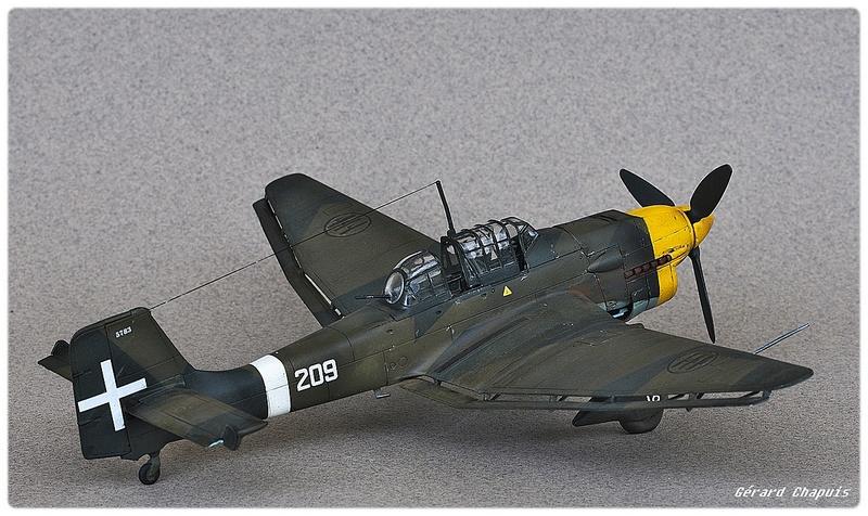 [Airfix] Junker 87 B Stukas Libye 1941 1/72 Imgp8882