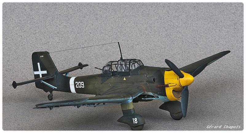[Airfix] Junker 87 B Stukas Libye 1941 1/72 Imgp8883
