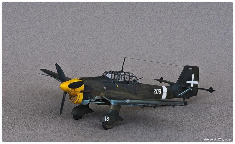 [Airfix] Junker 87 B Stukas Libye 1941 1/72 Imgp8884