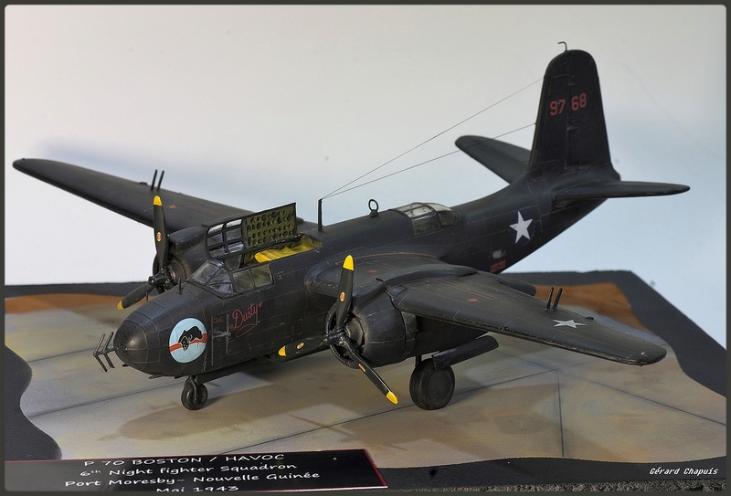 [Revell] 1/72 P 70 Boston Night fighter Imgp8923