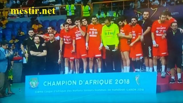 CAN de handball 2018| La Tunisie sacrée championne d'Afrique ! 27500310