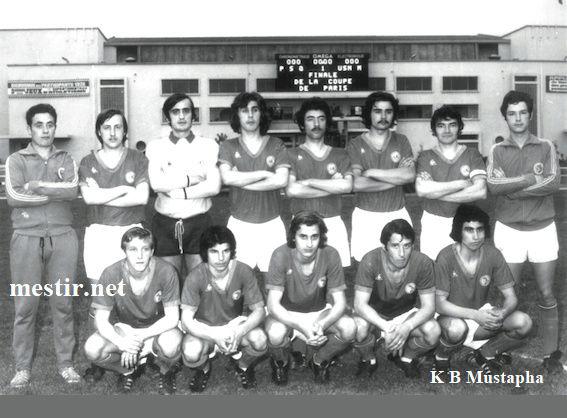 kamel Ben mustapha ancien joueur du PSG Finale11