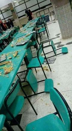 La photo du jour : Foutoir ou restaurant universitaire ? Resto-11