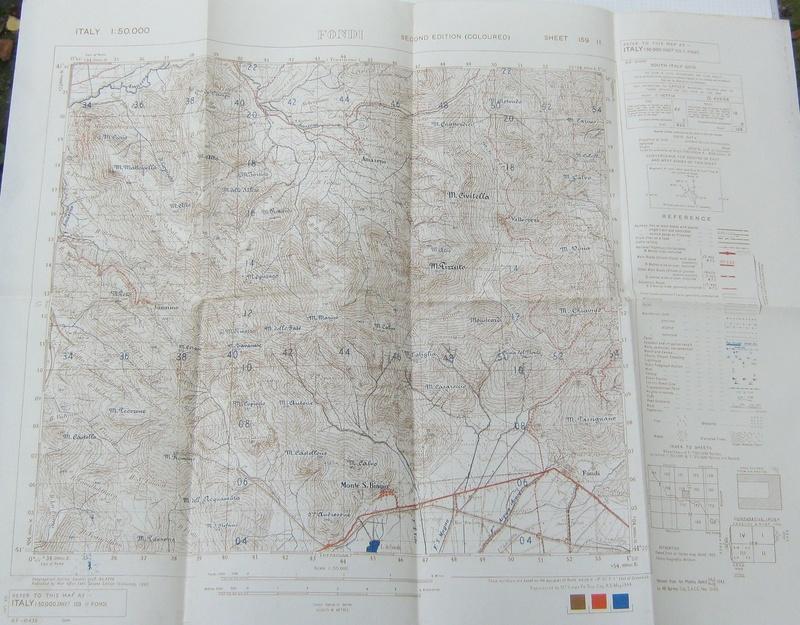 cartes de la Campagne d'Italie d'un Tirailleur ( 6ème RTM - 1944 ) -ALPINS-OCTOBRE1 251910