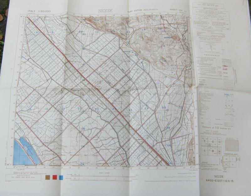 cartes de la Campagne d'Italie d'un Tirailleur ( 6ème RTM - 1944 ) -ALPINS-OCTOBRE1 252110