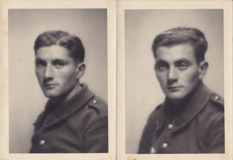 2 Photos portraits de soldats du 91ème RI - 1939/40  Img_0012