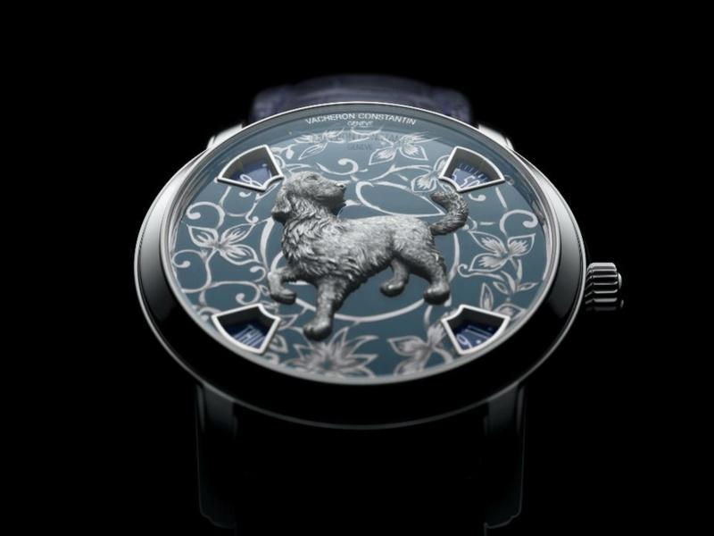 vacheron - VACHERON CONSTANTIN : La Légende du zodiaque chinois, l'année du chien L_860714