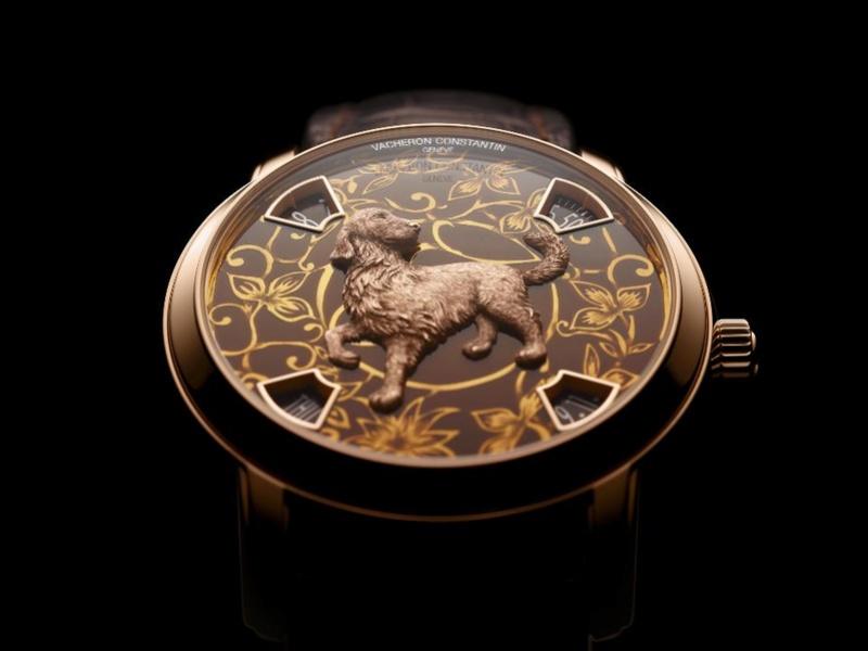vacheron - VACHERON CONSTANTIN : La Légende du zodiaque chinois, l'année du chien L_860715