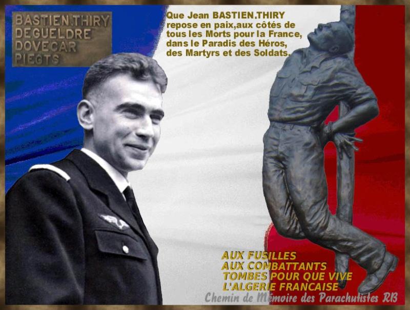 allocution que j'ai prononcée le 11 mars sur la tombe de Jean-Marie Bastien-Thiry à Bourg la Reine pour le 55ème anniversaire de sa mort. André Zeller Bastie10