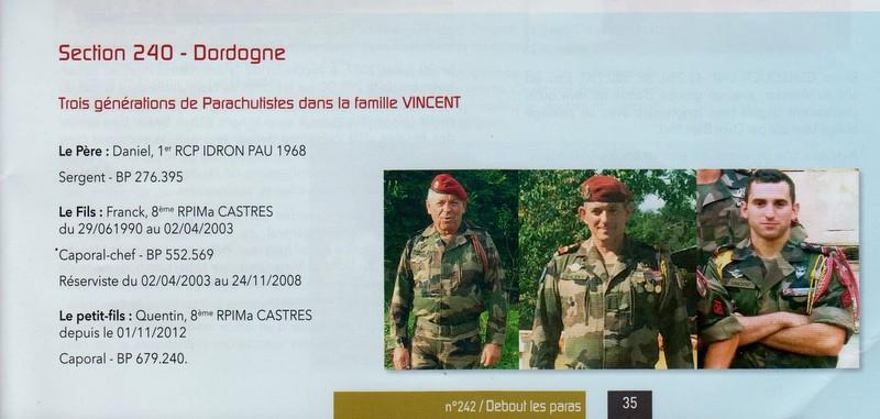 Trois génération de parachutistes dans la famille VINCENT Numyri11