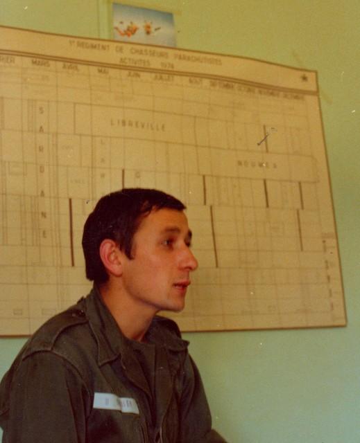 VISITE du Camp d'IDRON en 1974, un premier pas vers l'AMICALE des anciens du 1er RCP en 1979. Numyri17