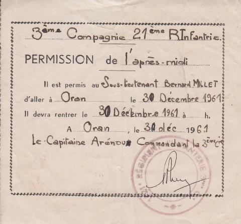 """EOR Bernard MILLET: """"parachuté"""" au 9e RCP, puis Cherchell, puis le 14e RCP, mais... - Page 2 Numyri22"""