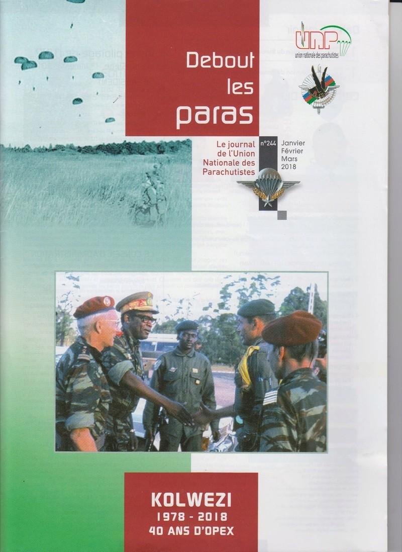 DEBOUT LES PARAS (DLP) revue de l'Union Nationale des Parachutistes Numyri26