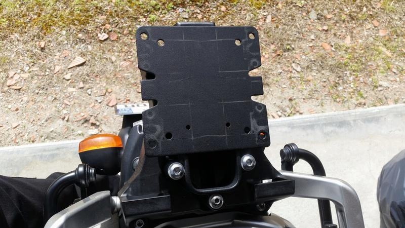 support pour top case Mini-212
