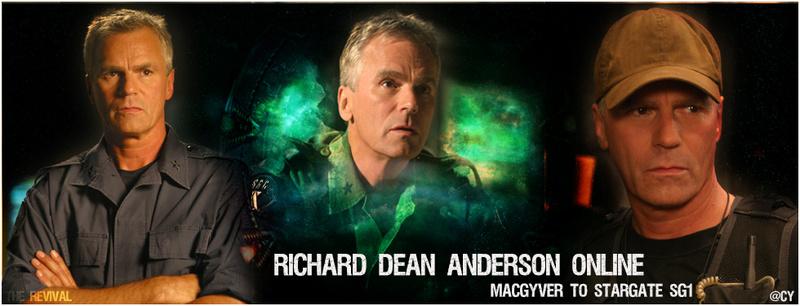 Richard Dean Anderson ONLINE