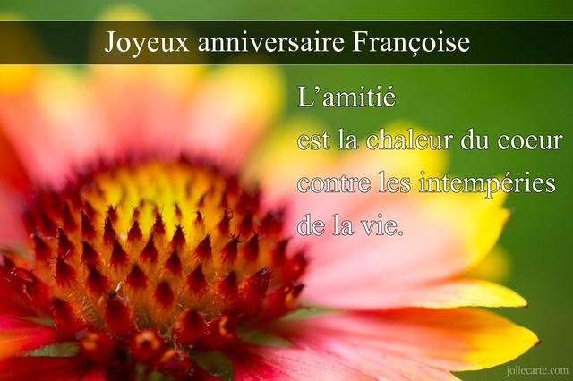 C'est la fête de Françoise Franco12