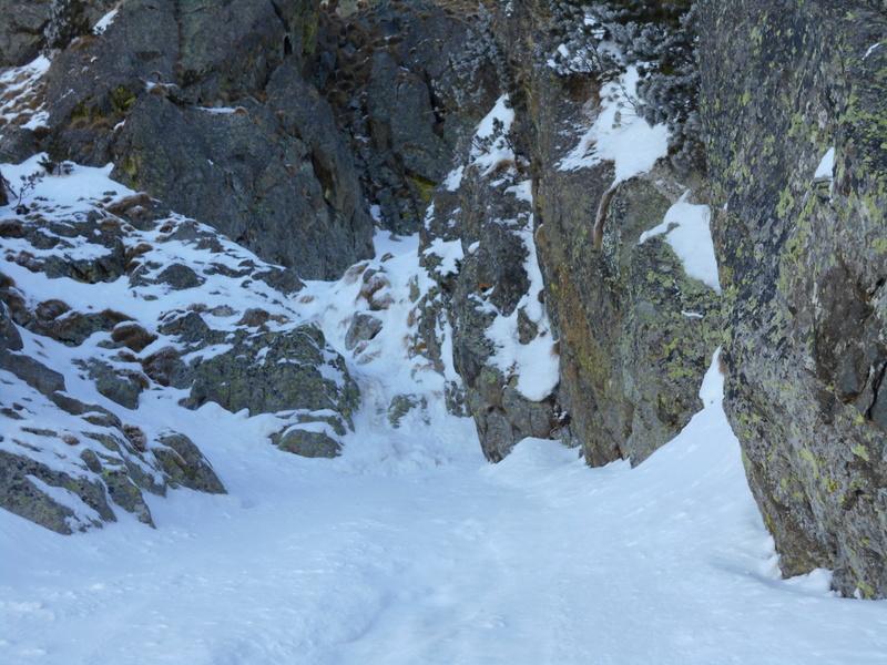 couloir Ouest du Mt Pélago Pylago54
