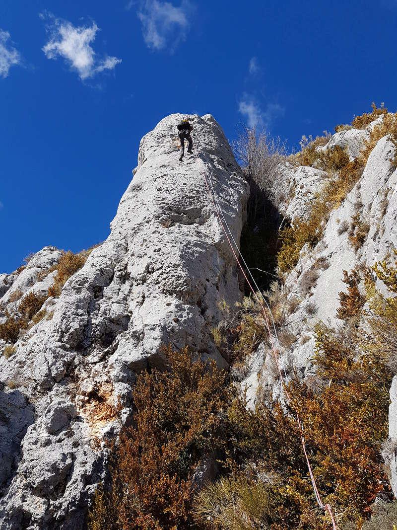escalade à Séranon Serano15