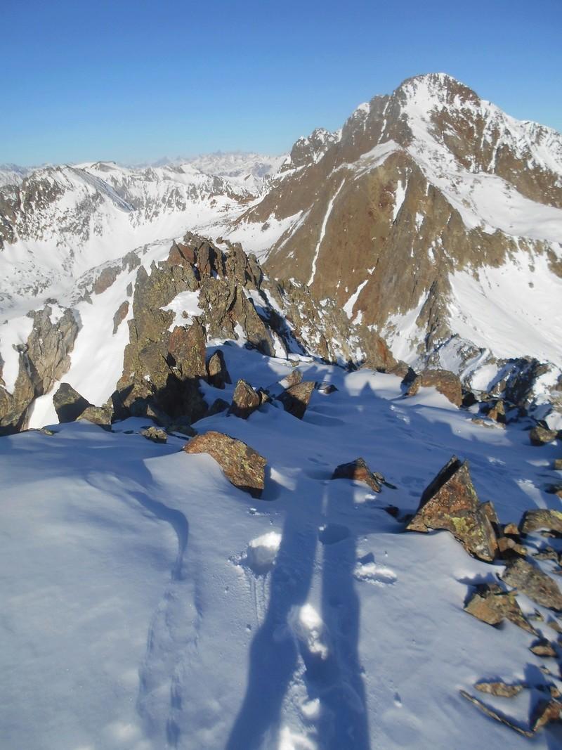 795 m au dessus d'Isola 2000. Tavels14