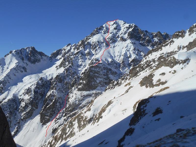 sommet sauvage en Gordo Tracer17