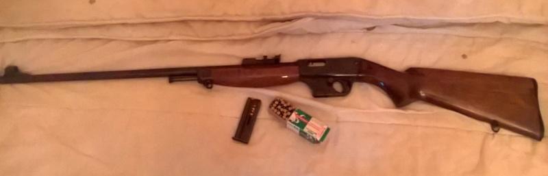 Winchester 1907 .351 SL et Unique X51 Carabi10