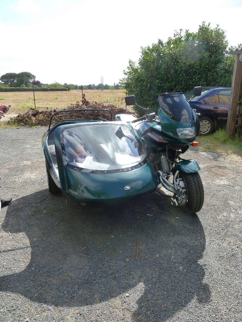 cherche fourche 900 diversion side car kyrnos side bike P1040510