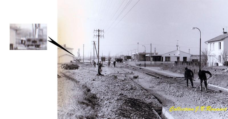 3  P.k.16.4 (nouveau tracé) 1961/69 Contournement de Colomiers. Decauv10