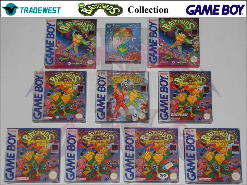 1°) Présentation de tous les jeux GB JPN Battle10