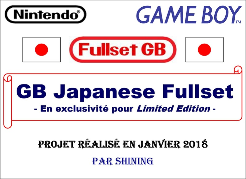 .Sommaire du projet GB Gb_ful12
