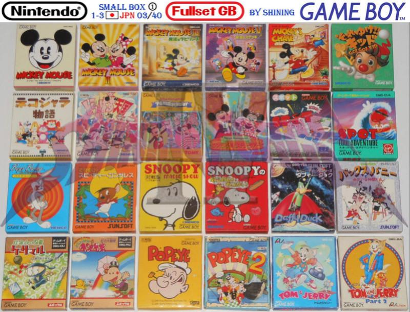 1°) Présentation de tous les jeux GB JPN Gb_ful25