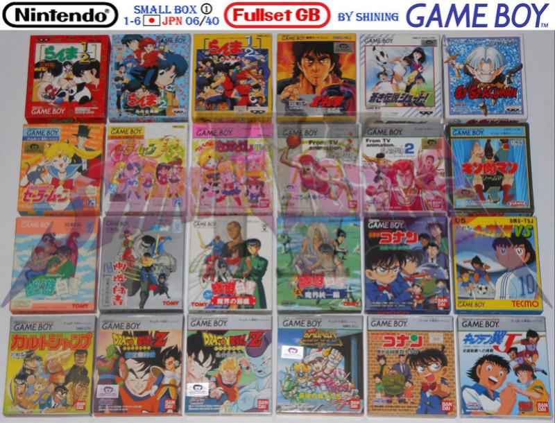 1°) Présentation de tous les jeux GB JPN Gb_ful27