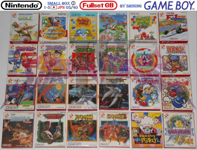 1°) Présentation de tous les jeux GB JPN Gb_ful28