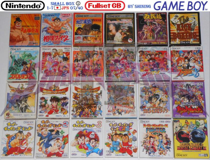 1°) Présentation de tous les jeux GB JPN Gb_ful29
