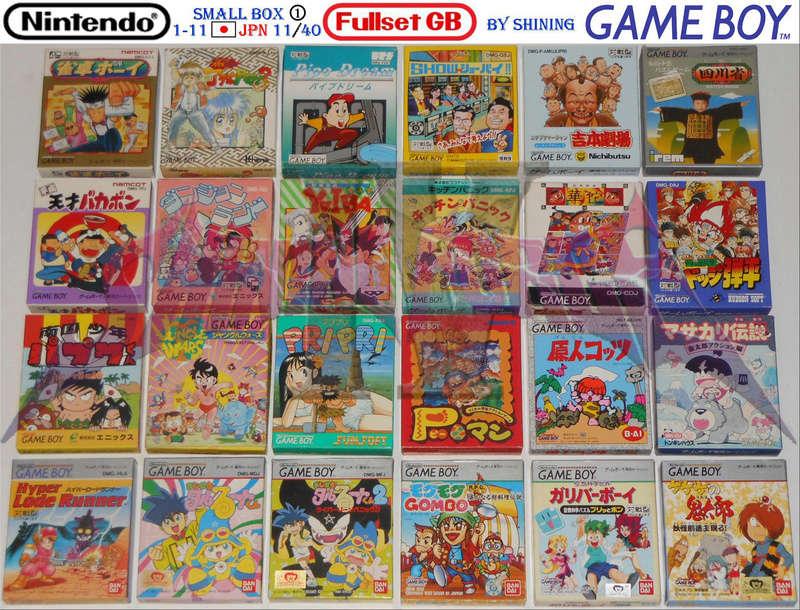 1°) Présentation de tous les jeux GB JPN Gb_ful34