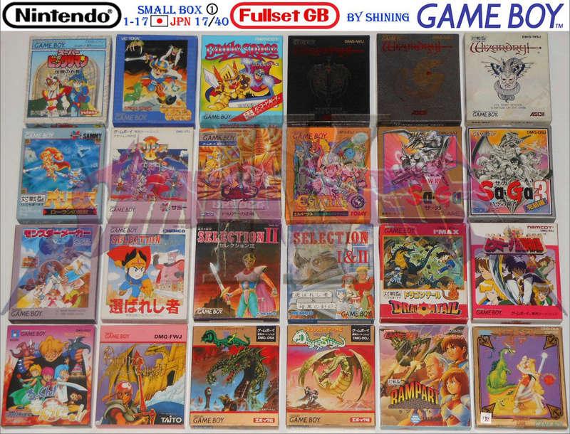 1°) Présentation de tous les jeux GB JPN Gb_ful38