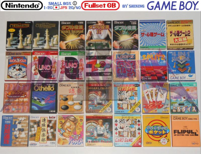 1°) Présentation de tous les jeux GB JPN Gb_ful41