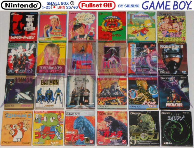 1°) Présentation de tous les jeux GB JPN Gb_ful42